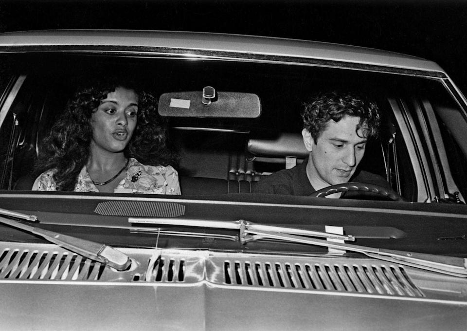 <p>Diahnne Abbott and Robert De Niro enjoy a night on the town circa the late-1970s in New York.</p>