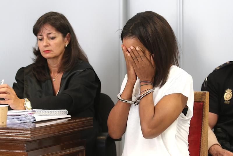 First Day Of The Trial Against Ana Julia Quezada