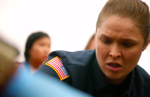 Watch WWE Superstar Ronda Rousey's First Scene on '9-1-1' (Exclusive Video)