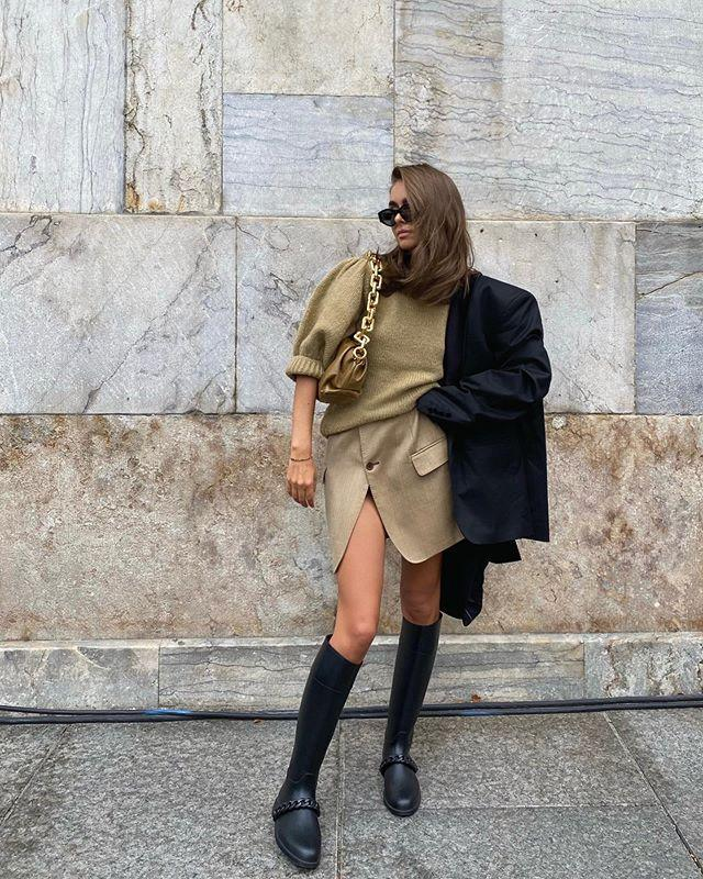 "<p>Maria Kragmann knows an oversized blazer can pull anything together.</p><p><a class=""link rapid-noclick-resp"" href=""https://go.redirectingat.com?id=127X1599956&url=https%3A%2F%2Fwww.cosstores.com%2Fen_gbp%2Fwomen%2Fwomenswear%2Fblazers%2Fproduct.boyfriend-fit-blazer-black.0909473003.html&sref=https%3A%2F%2Fwww.elle.com%2Fuk%2Ffashion%2Fwhat-to-wear%2Fg34367820%2Fautumn-outfits%2F"" rel=""nofollow noopener"" target=""_blank"" data-ylk=""slk:SHOP BLAZER NOW"">SHOP BLAZER NOW</a></p><p><a class=""link rapid-noclick-resp"" href=""https://go.redirectingat.com?id=127X1599956&url=https%3A%2F%2Fwww.matchesfashion.com%2Fproducts%2FBottega-Veneta-The-Chain-Pouch-leather-clutch-bag-1381443&sref=https%3A%2F%2Fwww.elle.com%2Fuk%2Ffashion%2Fwhat-to-wear%2Fg34367820%2Fautumn-outfits%2F"" rel=""nofollow noopener"" target=""_blank"" data-ylk=""slk:SHOP BAG NOW"">SHOP BAG NOW</a> </p><p><a href=""https://www.instagram.com/p/CGFd1bJr2PC/"" rel=""nofollow noopener"" target=""_blank"" data-ylk=""slk:See the original post on Instagram"" class=""link rapid-noclick-resp"">See the original post on Instagram</a></p>"