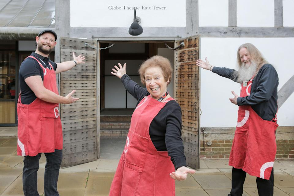 The volunteer army are ready to welcome audiences back to the Globe for the first time since 2019Matt Writtle