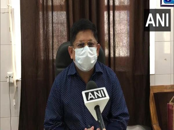 Dr Manish Sharma, Chief Medical and Health Officer of Gwalior (Photo/ANI)