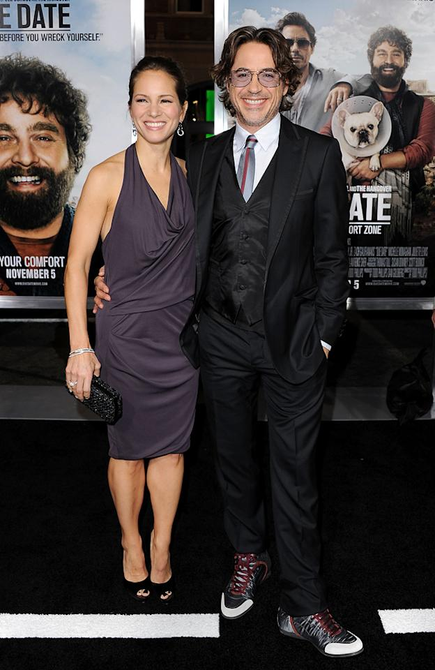 "<a href=""http://movies.yahoo.com/movie/contributor/1808430145"">Susan Downey</a> and <a href=""http://movies.yahoo.com/movie/contributor/1800010914"">Robert Downey Jr.</a> attend the Los Angeles premiere of <a href=""http://movies.yahoo.com/movie/1810116445/info"">Due Date</a> on October 28, 2010."