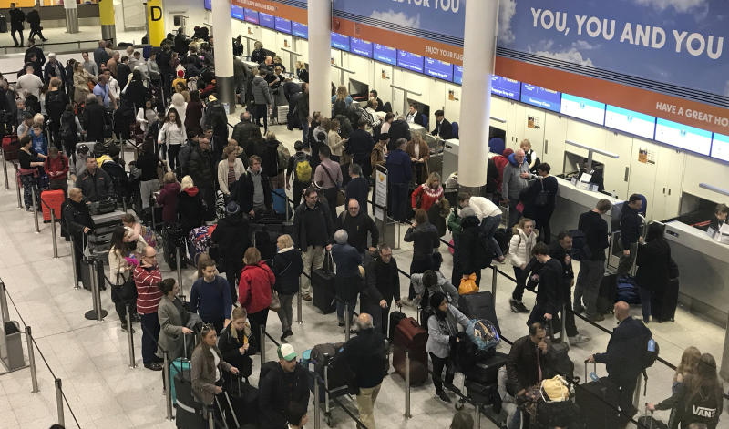 United Kingdom police free 2 drone suspects in Gatwick travel chaos