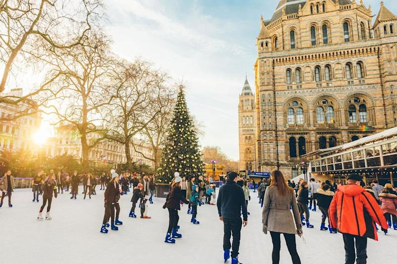 London icon: the Natural History Museum's beloved ice rink