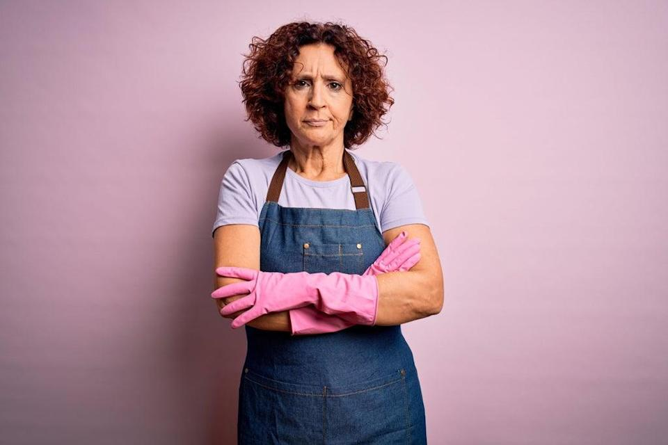 Why do I have to do all the housework when we both have jobs? (Alamy/PA)