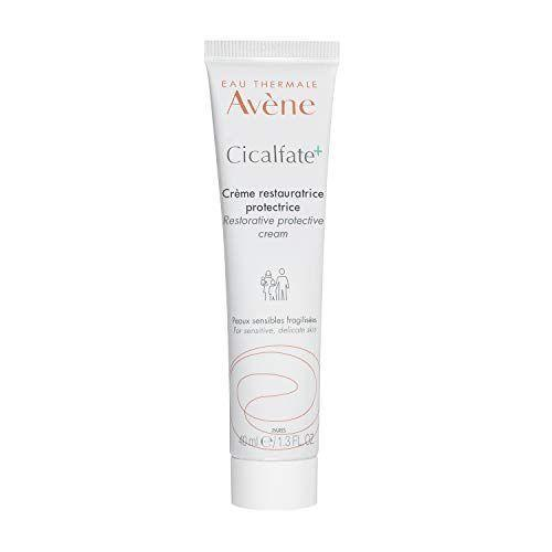 """<p><strong>Eau Thermale Avène </strong></p><p>amazon.com</p><p><strong>$28.00</strong></p><p><a href=""""https://www.amazon.com/dp/B07XG1PLJF?tag=syn-yahoo-20&ascsubtag=%5Bartid%7C10055.g.36743140%5Bsrc%7Cyahoo-us"""" rel=""""nofollow noopener"""" target=""""_blank"""" data-ylk=""""slk:Shop Now"""" class=""""link rapid-noclick-resp"""">Shop Now</a></p><p>""""I also like creams that facilitate the healing process, such as Avene Ciclafate+,"""" says Dr. Gohara. It's designed to help wounded, compromised skin. </p>"""