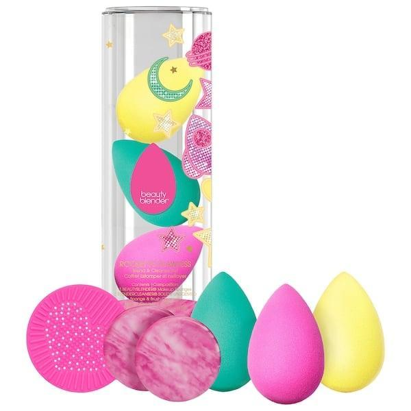 <p>Stock up on makeup sponges with a <span>Beautyblender Rocket to Flawless Blend and Cleanse Sponge Set</span> ($49), including three sponges with soaps and a scrub mat, too.</p>