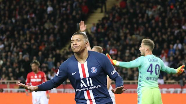 Paris Saint-Germain benefitted from some controversial VAR decisions as they ran out 4-1 winners over Monaco in Ligue 1.