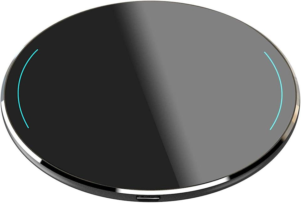 <p>No more worrying about frayed wires or having enough charging cables. Get them this <span>TOZO W1 Thin Wireless Charger</span> ($12, originally $20) for a seamless charging experience. From their bedside table or desk to their entryway, this wireless charger will make their life easier. It comes in a variety of sleek colors as well like gold, silver, space gray, rose gold, and more. </p>