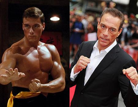 Jean-Claude Van Damme moved to America in 1982 with a friend in the hopes of being an action star, and he definitely succeeded on that front. His breakout film was 'Bloodsport', which was a 1988 hit. At age 54, he has continued to be an action star and is yet another actor to star in 'The Expendables' movie franchise.