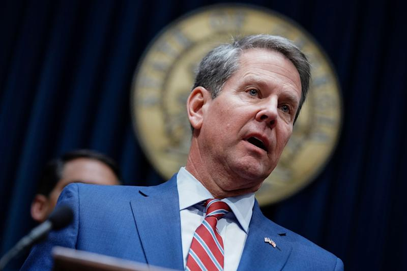 In 2019, Gov. Brian Kemp signed one of the most extreme abortion bans into law. (Elijah Nouvelage/ASSOCIATED PRESS)