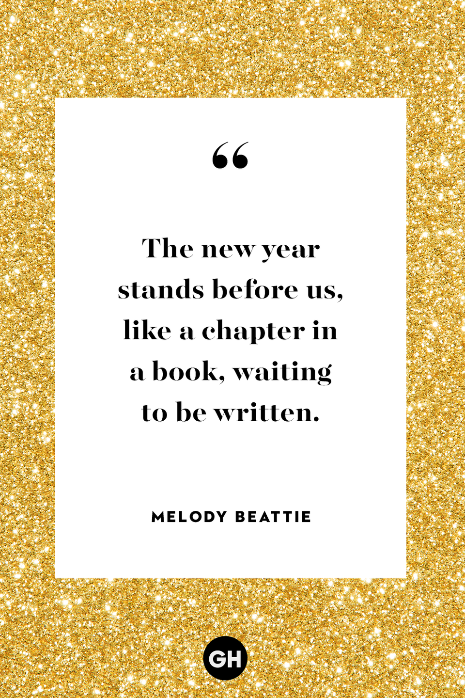 <p>The new year stands before us, like a chapter in a book, waiting to be written.</p>
