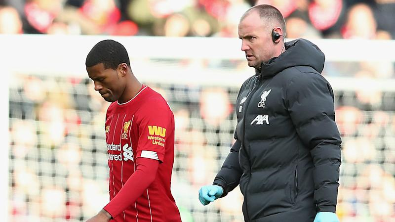 Liverpool will be without Wijnaldum for Club World Cup semi-final, Klopp confirms