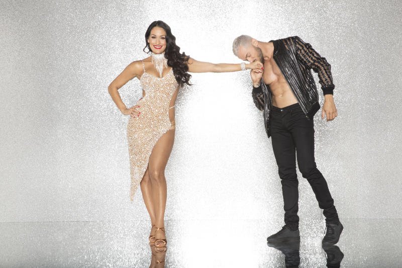'DWTS' Couple Artem Chigvintsev & Nikki Bella Are Engaged!