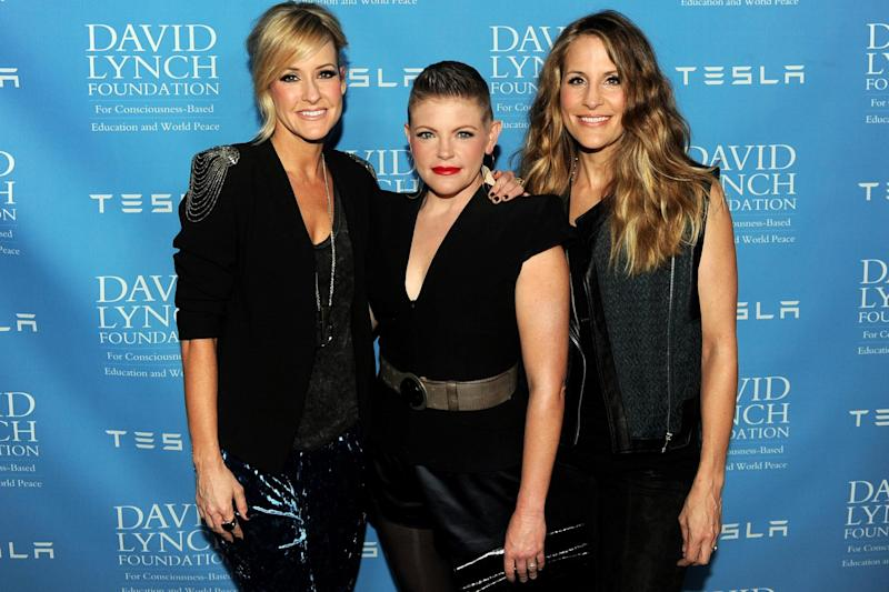 Martie Maguire, Natalie Maines and Emily Strayer of The Chicks on 27 February 2014 in Beverly Hills, California: Kevin Winter/Getty Images