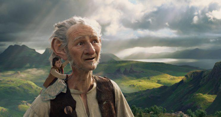 BFG... no big fat cheque for Quentin Blake - Credit: Dreamworks