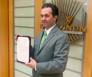 Narconon Europe accepts letter of appreciation from the General of the Civil Guard in Cáceres, Spain