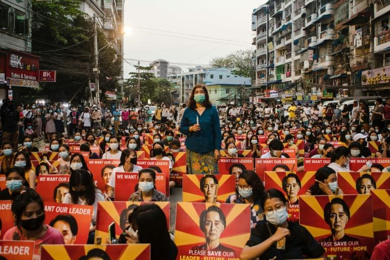 Myanmar has been in turmoil since the generals ousted and detained civilian ruler Aung San Suu Kyi on February 1, triggering a major uprising demanding a return to democracy