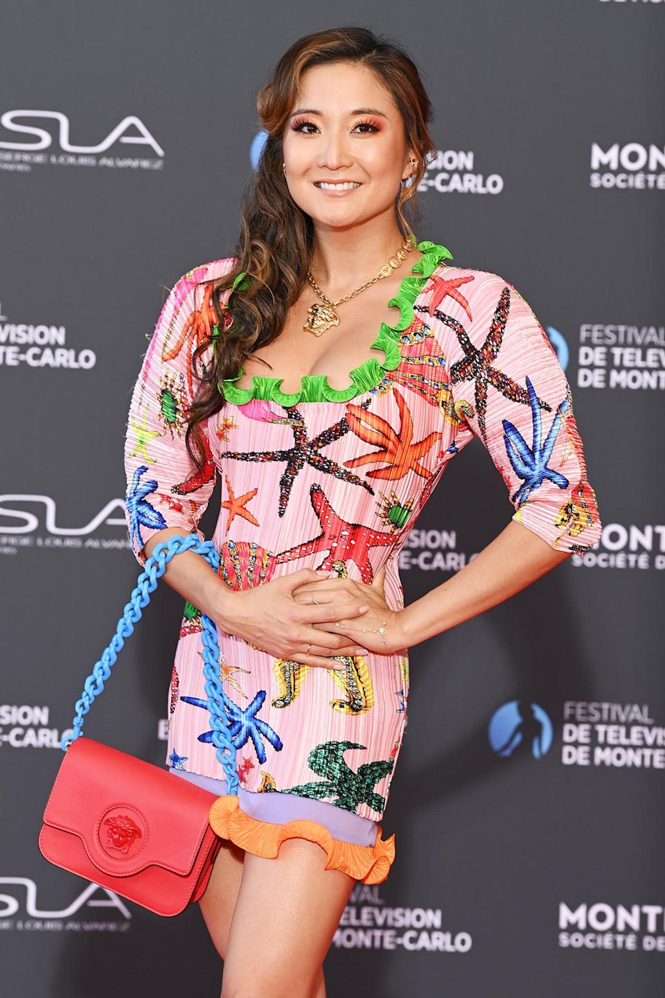 <p><em>Emily in Paris</em> star Ashley Park looks ready for summer while hitting the red carpet at the Monte-Carlo Television Festival in Monaco on June 18.</p>