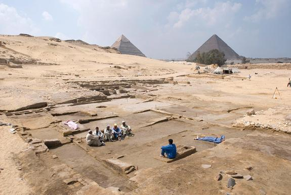 Tasty Life: Leopard Teeth, Calf Bones Found in Ruins Near Pyramids