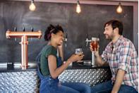 """<p>Have you searched for """"date night ideas near me"""" but keep coming up short? After all, every couple gets stuck in the old """"dinner and a movie"""" rut at some point in their relationship. Well, we have just what you need to spice things up. While these aren't <a href=""""https://www.countryliving.com/life/g30445302/home-date-night-ideas/"""" rel=""""nofollow noopener"""" target=""""_blank"""" data-ylk=""""slk:home date night ideas"""" class=""""link rapid-noclick-resp"""">home date night ideas</a>, they're just as simple and budget-friendly. Some of them are even <a href=""""https://www.countryliving.com/life/g5137/free-date-ideas/"""" rel=""""nofollow noopener"""" target=""""_blank"""" data-ylk=""""slk:free"""" class=""""link rapid-noclick-resp"""">free</a>! For instance, you don't need to spend a dime to try on old-fashioned clothes at a local thrift store or go stargazing in your backyard. Many of these outings are also the perfect thing to do after a romantic <a href=""""https://www.countryliving.com/food-drinks/g4770/dinner-ideas-for-two/"""" rel=""""nofollow noopener"""" target=""""_blank"""" data-ylk=""""slk:dinner for two"""" class=""""link rapid-noclick-resp"""">dinner for two</a> at home, such as going to see a comedy show or seeing how many pins you can knock down at the local bowling alley.</p><p>There are also some great ideas for special occasion dates, such as going to see an orchestra or taking a dance class together. There are so many ways to show your person how much you care about them, whether it's taking them to where you had your first date or picking out records to listen to romantic <a href=""""https://www.countryliving.com/life/entertainment/g30460487/valentines-day-songs/"""" rel=""""nofollow noopener"""" target=""""_blank"""" data-ylk=""""slk:love songs"""" class=""""link rapid-noclick-resp"""">love songs</a> together. Now that getting out and about is more feasible, we guarantee this list has a great date option for you and your boo. Any couple will enjoy these fun ideas regardless of what town or city you live in<br></p>"""