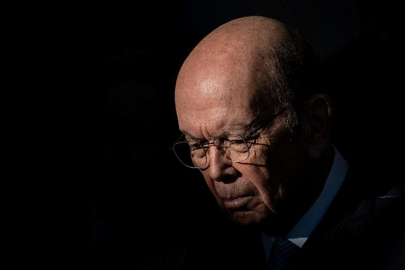 US Secretary of Commerce Wilbur Ross, seen here in January 2019, faces possible congressional contempt charges related to a dispute over a citizenship question that President Donald Trump's administration wants included in the 2020 census (AFP Photo/Brendan Smialowski)