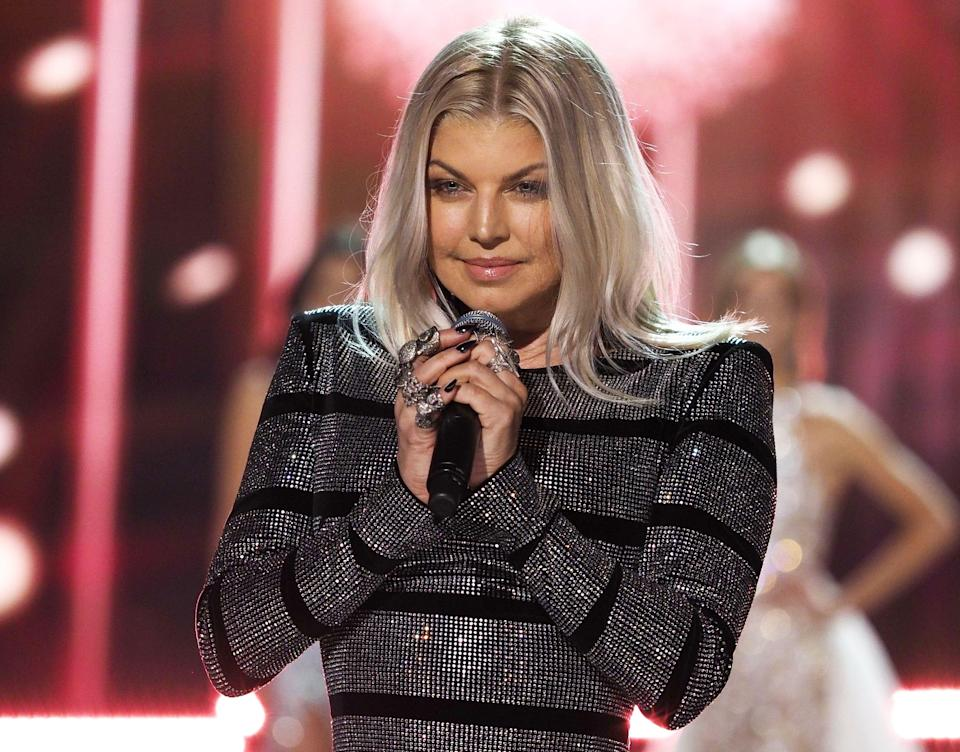 Singer Fergie opens up about her meth addiction. (Credit: REX)