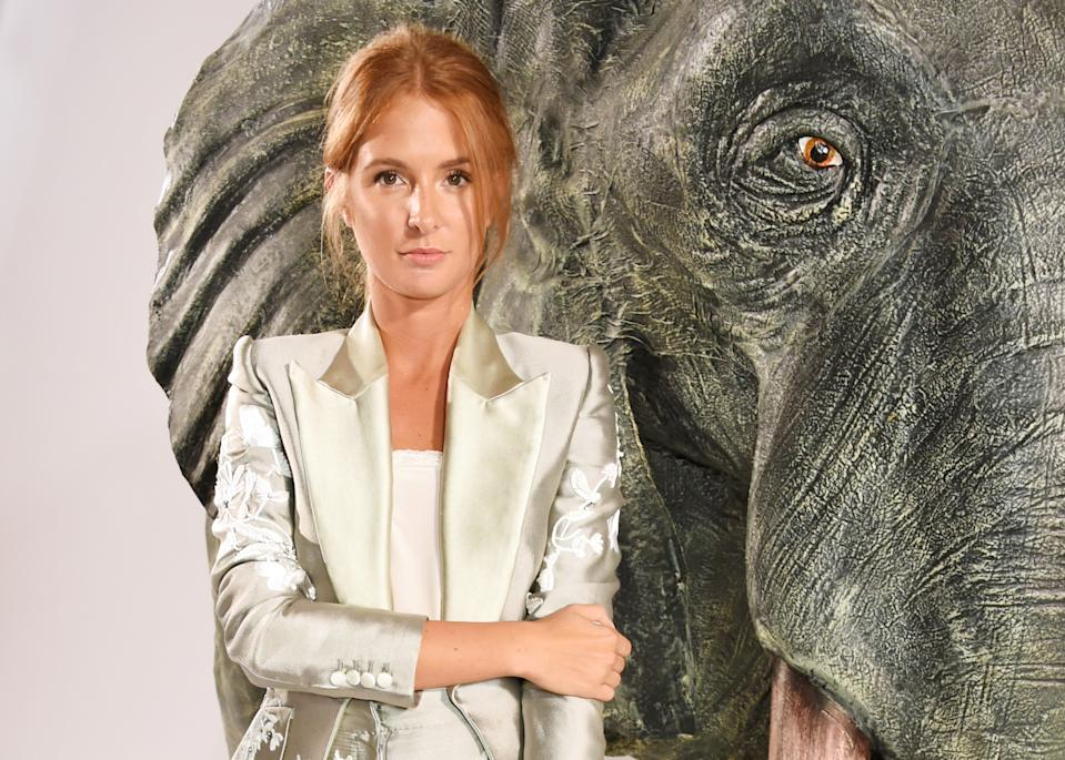 LONDON, ENGLAND - SEPTEMBER 06: Millie Mackintosh attends the Nicholas Oakwell Couture AW16 show at Claridge's Hotel on September 6, 2016 in London, England. (Photo by David M. Benett/Dave Benett/Getty Images)