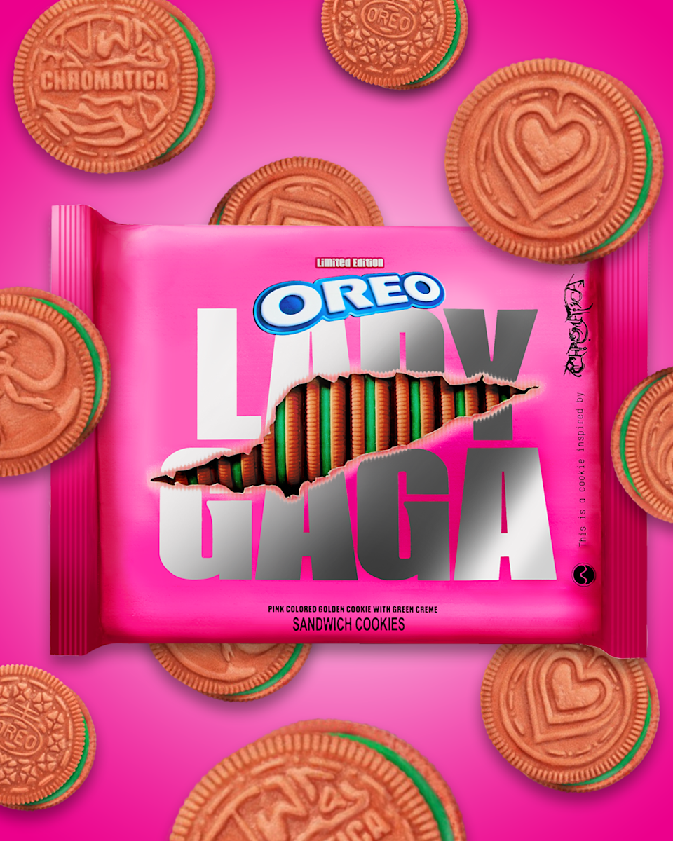 Oreo is launching Lady Gaga themed cookies. Here's when you can get them
