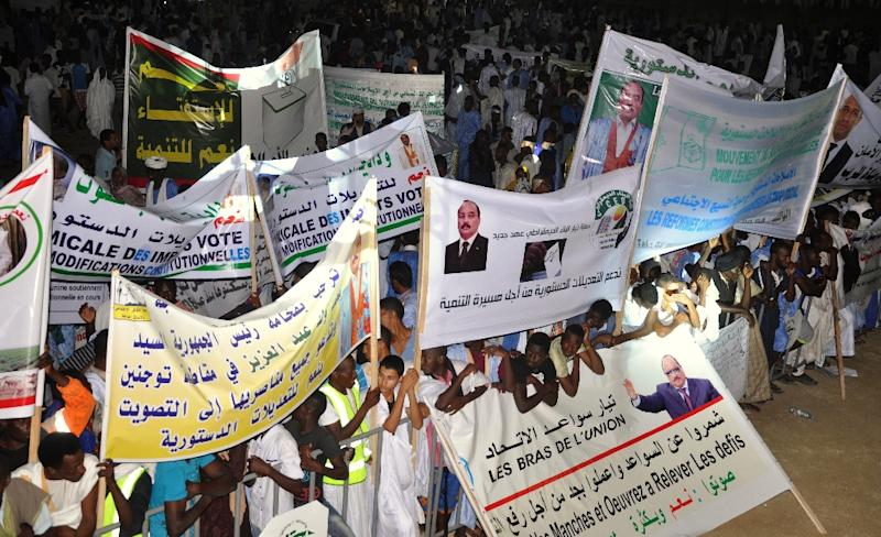 More than 1.4 million people are elligible to vote in Mauritania, a conservative west African Islamic republic