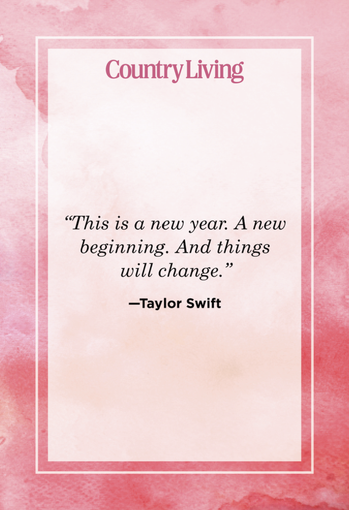 """<p>""""This is a new year. A new beginning. And things will change.""""</p>"""