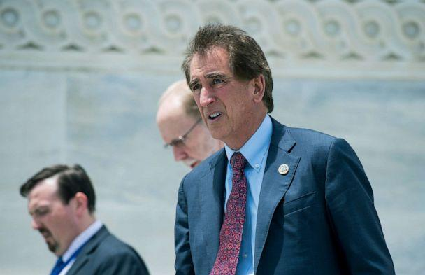 PHOTO: Rep. Jim Renacci, R-Ohio, walks down the House steps after the last votes before the July 4th recess, June 28, 2018.  (Bill Clark/CQ-Roll via Getty Images)