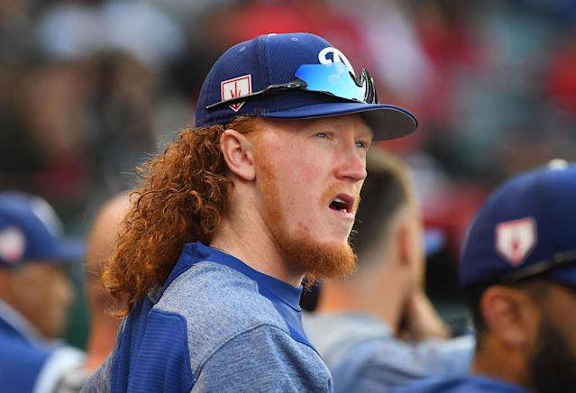 Dodgers prospect Dustin May will make his MLB debut on Friday. (Getty Images)