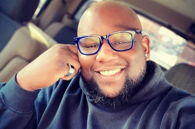 Warren Montgomery is being remembered as a big man with a big personality who was passionate about his business The Big Easy Kitchen.  (GoFundMe/Courtesy of Kandace Holness - image credit)