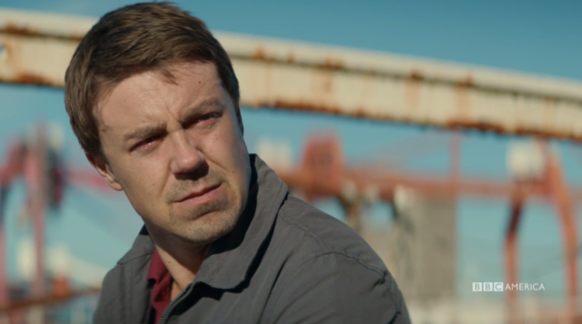 Mark Latimer (Andrew Buchan) talks with Joe. (Photo: BBC America)