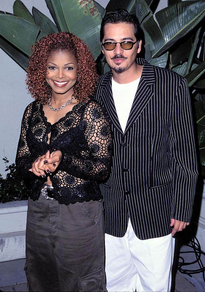 "<p class=""MsoNormal"">When Janet Jackson announced in 2000 that she and songwriter and music video director Rene Elizondo had broken up, she wasn't just sharing the news of her split with the world, she was actually announcing for the first time that the two had been secretly married … and weren't just breaking up, but divorcing. ''I'm as surprised as you are that we managed to keep it a secret,'' Elizondo said of his marriage to the pop singer, which lasted about eight years (though they were together for 13). Jackson was later ordered to pay her ex a reported $10 million divorce settlement. </p>"