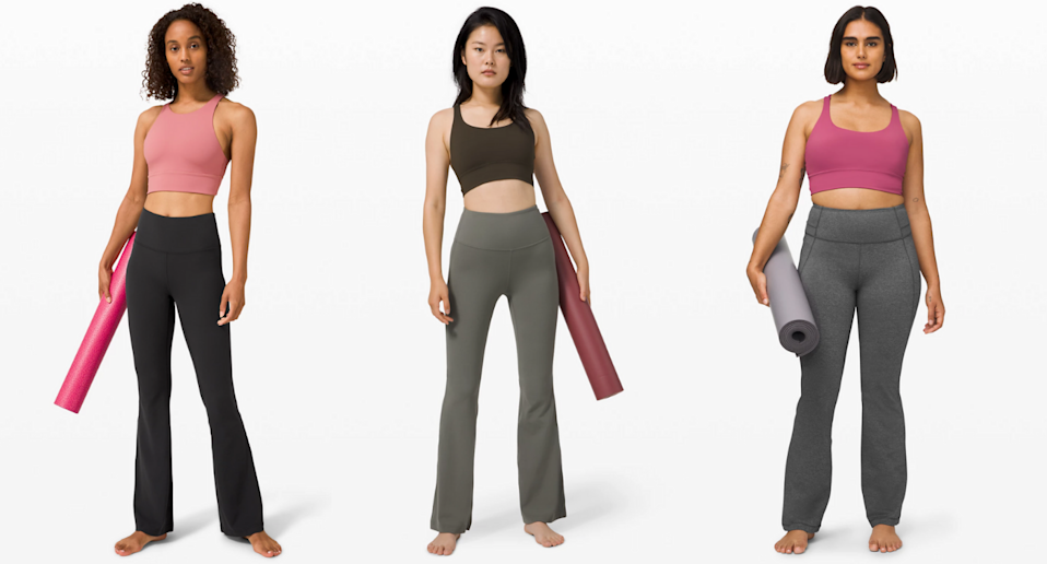 Lululemon is bringing back its cult classic Groove yoga pants. (Lululemon)
