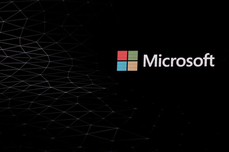 FILE PHOTO: Microsoft holds device-launching event in Barcelona ahead of the 2019 Mobile World Congress