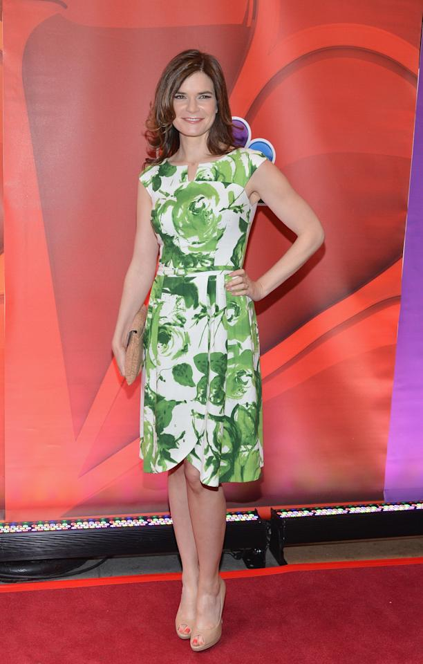 NEW YORK, NY - MAY 13:  Actress Betsy Brandt attends 2013 NBC Upfront Presentation Red Carpet Event at Radio City Music Hall on May 13, 2013 in New York City.  (Photo by Slaven Vlasic/Getty Images)