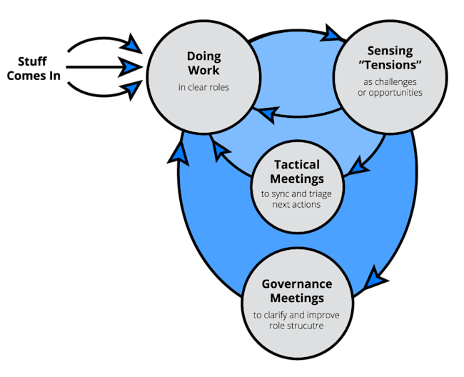 holacracy graphic