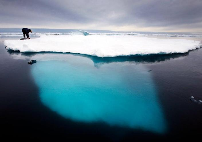 Some effects of the climate crisis, such as melting glaciers, are already irreversible (2007 AP)