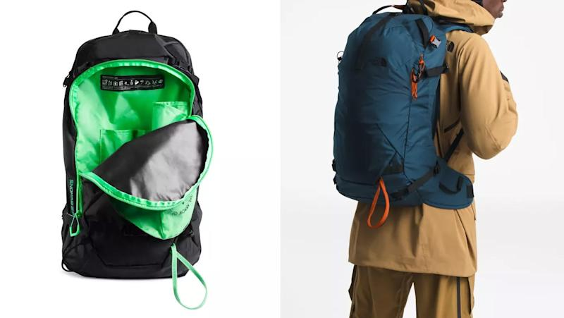 The perfect bag for a weekend ski trip.
