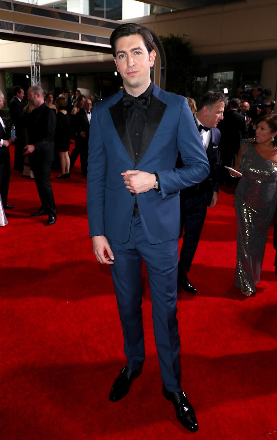 """Cousin Greg of """"Succession,"""" coming to rescue the red carpet from boring suits!"""