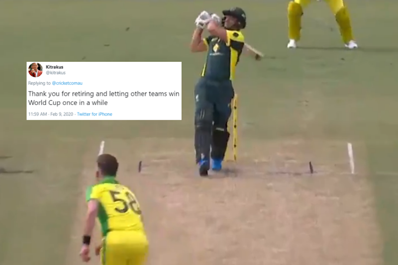 Adam Gilchrist Smoking Brett Lee for a Clean Six Has Brought Back the Vintage Gilly Nostalgia