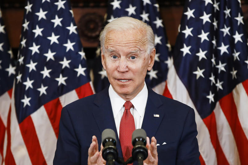 Poll: Biden opens up 11-point lead on Trump nationwide