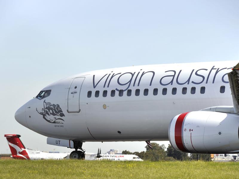 Delays can be expected at Hobart Airport after two Virgin aircraft made contact on the ground.
