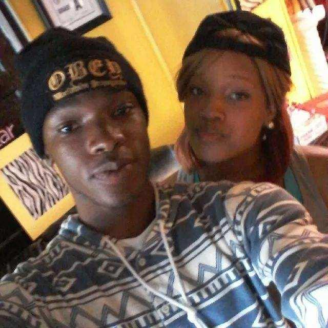 This undated family photo provided by Felicia Jordan, shows Ravon Jordan poses for a photo with Shaniqua Simmons. Ravon an advocate against gun violence spoke out in a city council meeting after Simmons and her boyfriend were gunned down in an apartment at the former Cambridge Arms on May 1, 2014. Less than two months after Simmons died, Ravon died after being shot in gang crossfire. (AP Photo/Felicia Jordan)