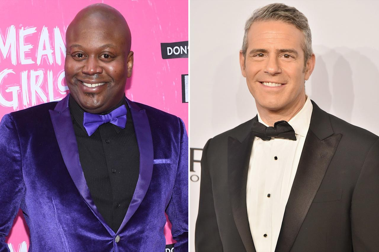"No one is quite sure where the bad blood between these two came from, but Titus Burgess made it clear that <a href=""https://people.com/tv/tituss-burgess-opens-up-andy-cohen-rant-wendy-williams-show/"">he is <em>not </em>a fan</a> of Andy Cohen after an appearance on <em>Watch What Happens Live</em>. On the show, Cohen <a href=""https://www.youtube.com/watch?v=JJGE52yLGuY"">asked Burgess</a> about his time working with comedian, Eddie Murphy. He asked, ""I was just wondering if you got close at all because he was very problematic for the gays at one point."" Burgess immediately told Cohen that Murphy was not a problem for him, and the interview grew icey.   But Burgess wasn't done with Cohen. He wrote on Instagram after the incident, ""[Cohen] should remember his talk show isn't an episode of the real housewives of Atlanta! It's a place where artists come to talk about art and have a little fun. NOT a place to rehash old rumors or bring a star negative press.""  When asked if the pair were feuding by <a href=""https://www.youtube.com/watch?v=pIsZ9cTC6Oo""><em>Access</em></a>, Cohen said, ""He might be, I'm not."""