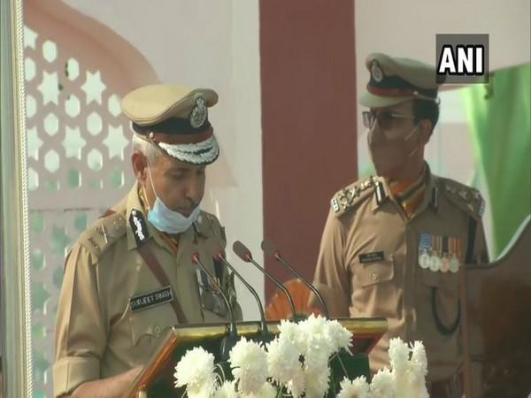 Director-General (DG) ITBP SS Deswal (Photo/ANI)